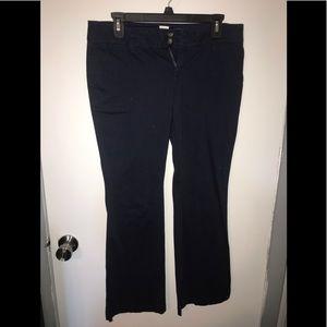 Arizona Jean Co navy chinos size 9S 9 short